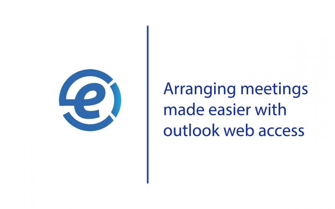 Arranging meetings with outlook web access
